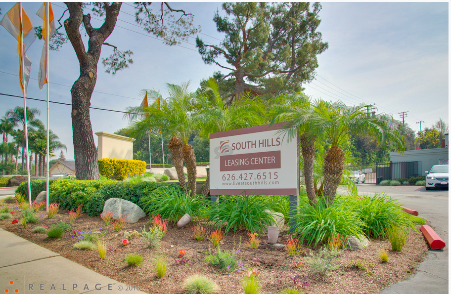 South Hills Sign
